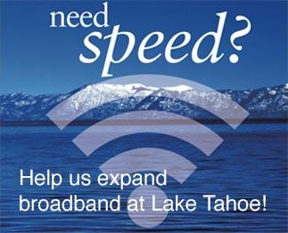 lake tahoe boradband